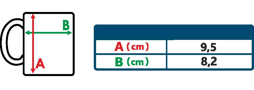 Tabuľka rozmerov