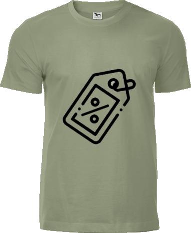 ec28aafc9fcf Zúžené pánske tričko Slim s možnosťou potlače