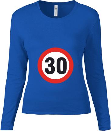 337eed55c8fa Dámske tričko s dlhým rukávom - posledné kusy skladom