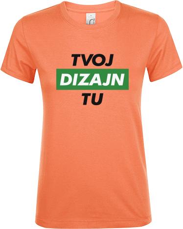 Vytvor si dámske tričko s vlastnou potlačou - Kreativator f5aaf873502