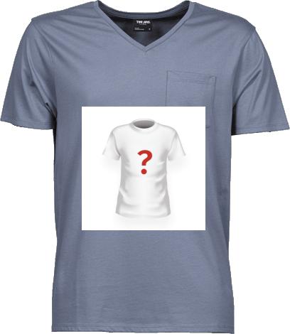 f6b8e0d624a60 Traveler   Pánske tričko s V výstrihom a vreckom s možnosťou potlače ...