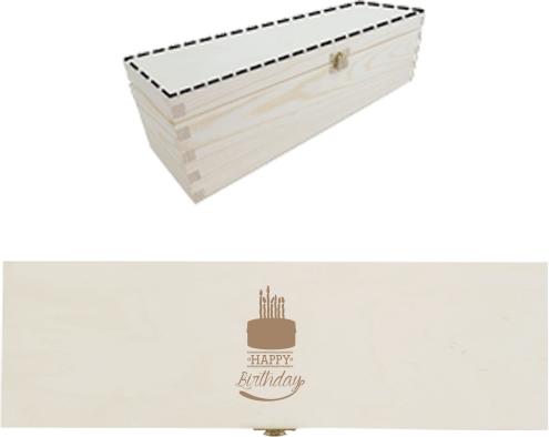 9b758edc6ff Narodeninová torta | Online návrh a gravírovanie na drevenú truhlicu ...