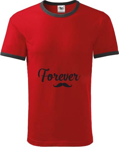 da8fa5d795a8 Pánske tričko Infinity s kontrastnými lemami - posledné kusy skladom