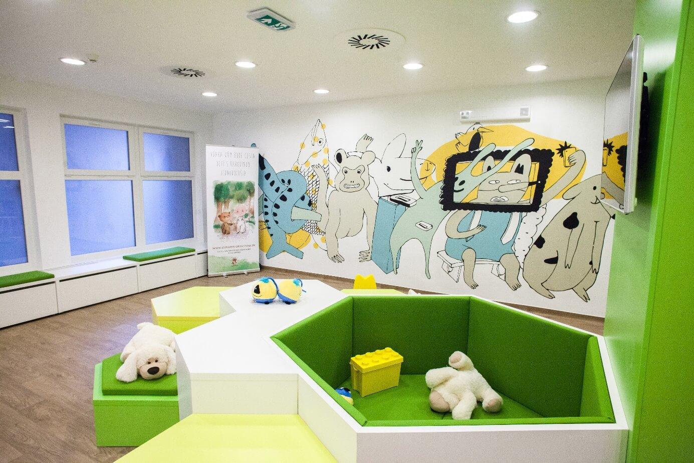 Klinike detskej hematológie a onkológie v NÚDCH Bratislava